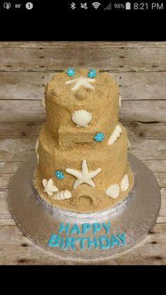 Sweet Sand Castle - Cake by gigicakes