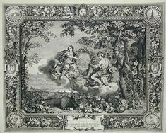 The Seasons: Autumn, engraving after Charles LeBrun