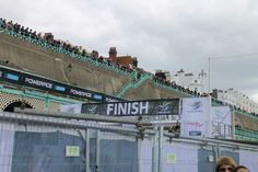 The runners' favourite sight!