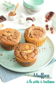 Nutella, Muffins, Cake, Breakfast, Pains, Desserts, Food, Sweet Recipes, Cooker Recipes