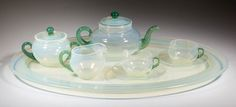 Rare Fry Foval child's tea set from the Pohto collection