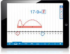 Learning with the New Number Line App - this FREE app from The Math Learning Center helps students to explore strategies on a Number Line. An online version of the app is also available. Free.