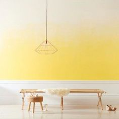 How to paint an ombre wall | Paint Inspiration | Valspar Paints - Red Online