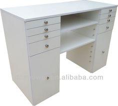 Manicure Table /manicure Table Nail Salon Furniture /nail Bar Furniture  Home Nail Salon,