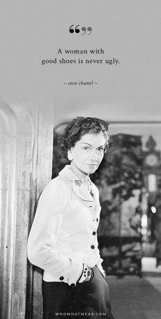 A Woman's Ideal Wardrobe, According to Coco Chanel via Who What Wear Die ideale Garderobe einer Frau, laut Coco Chanel über Who What Wear Coco Chanel Mode, Coco Chanel Fashion, Coco Chanel Quotes, Coco Chanel Style, Slingback Chanel, Espadrilles Chanel, Coco Chanel Dresses, Chanel Cruise, Chanel Couture