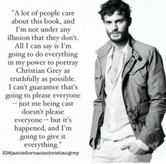 Jamie Doran on being casted as Christian in Fifty Shades of Grey.