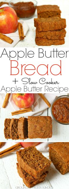 The BEST Apple Butter Bread + Slow Cooker Apple Butter Recipe | This…