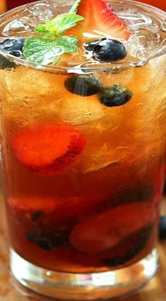 ... ) on Pinterest | Iced tea, Raspberry lemonade and Peach lemonade