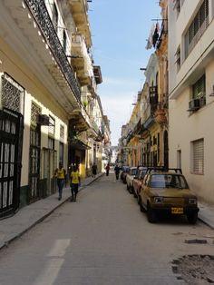 Mooie straatjes in #Havana, #Cuba