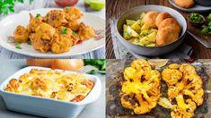 Obľúbený karfiol na 10 chutných spôsobov   Recepty.sk Fried Rice, Macaroni And Cheese, Cauliflower, Fries, Pizza, Meat, Chicken, Vegetables, Ethnic Recipes