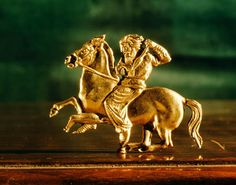 Scythian Horseman/ Hermitage Museum, St Petersburg