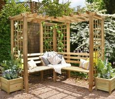 Buy a Forest Sorrento Arbour securely at GardenSite for only £339.99. We offer fast UK delivery, cheap prices and our 5-star service which is backed up by over 5000 reviews. We're open 7 days a week so shop online now or call 0121 355 7701 for free advice. BUY TODAY >>>