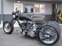 Chopper Trike Trike Bobber Chopper Rat Custom Harley Davidson Flat For Sale $18000.00   Bobber Motorcycle