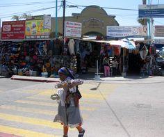 Downtown Los Algodones, Baja Mexico.   Shopped till we dropped!!