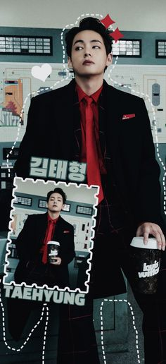Boyfriend Material, Beautiful Boys, Taehyung, Punk, Wallpapers, Bts Wallpaper, Backgrounds, Cute Boys, Wallpaper