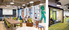 Meltwater Office by Design Blitz - Office Snapshots Workspace Design, Office Interior Design, Corporate Interiors, Office Interiors, Co Working, Commercial Interiors, Commercial Design, Interiores Design, Office Furniture