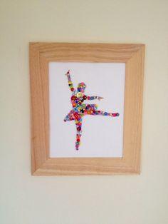 Handmade sparkly ballerina - The Supermums Craft Fair