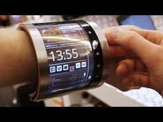 FlexEnable - flexible screen #prototype #design