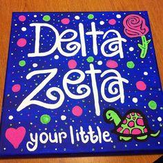 Delta Zeta art