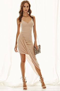 Asymmetrical Cami Dress | Forever 21 - 2000185061. $21 bachelorette?