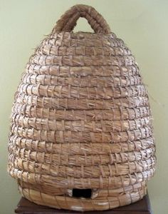 How to Make a Bee Skep.... and information on what they are and the labor involved if this is something you want to attempt.