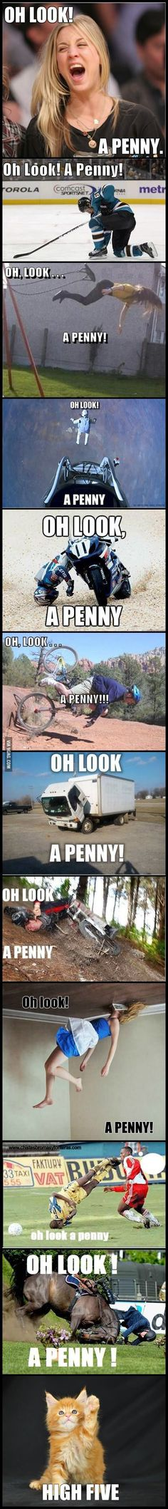 Oh look, a penny