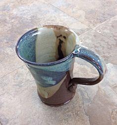 Terracotta pottery mug