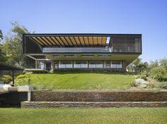 Mathias Klotz, Cristián Boza Wilson - Casa Boza, Las Condes, Santiago Chile, Chile (2013) #houses