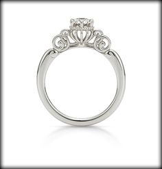 """""""Fortunate pumpkin carriage"""" Inspired by Cinderella. The most beautiful ring I´ve ever seen"""