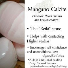 Mangano Calcite crystal meaning