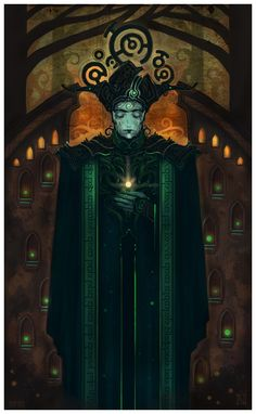 Lord Mandos by MagusVerus.deviantart.com on @deviantART