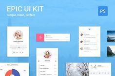 Epic UI Kit – Free Sample