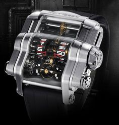 I want this watch. Rebellion Time-Machine ($105000)