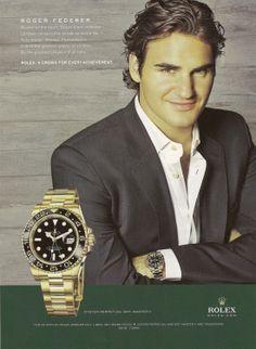 Endorsements from prestigious brands like Rolex