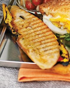 Grilled-Vegetable Panini - Martha Stewart Recipes