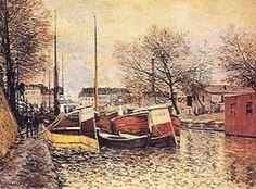 Canal Saint Martin SISLEY