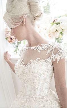 Featured Dress: House of Mooshki; Wedding dress idea.