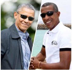 """Meet the man whom many think is the ultimate #44thPresident Barack Obama #lookalike. Jose Rivera is a 43-year-old father of five from Cape Verde, off the northwest coast of Africa.Describing the situation, he says """"I work as a tour guide so I am always meeting new people and their reaction is always the same. As soon as they see me they say: 'Oh my God, you look just like #Obama I find it very funny and I don't mind posing for photographs with people"""". #BarackObama #Obama #JoseOliveira"""