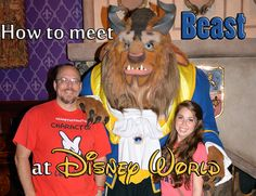 How to meet Beast at Be Out Guest Restaurant in the Magic Kingdom at Walt Disney World #KtP