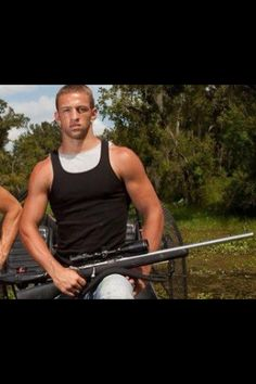 Jay paul molinare of swamp people <3