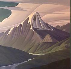 Ken Harrison Artist Jasper Park, Banff Springs, Park Lodge, Magic Realism, Canadian Artists, Mountain Landscape, Abstract Expressionism, Impressionism, Landscape Paintings