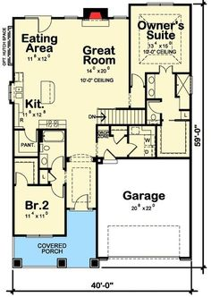 2 Bed Getaway with Options - 42340DB | 1st Floor Master Suite, Butler Walk-in Pantry, CAD Available, Craftsman, Northwest, PDF, Photo Gallery, Sloping Lot, Split Bedrooms | Architectural Designs