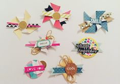 Hello everyone!!, new week, new projects, right?, that's why today I want to share with you more embellishments I have made.   After the f...