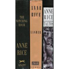The Mayfair Witches Trilogy. I couldn't put The Witching Hour down, dove right into the next two, still a favorite.