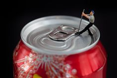 Tiny people by artist David Gilliver