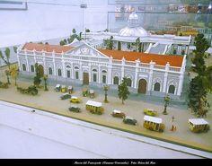 Palacio Federal Legislativo. Maqueta Hecha por la Arquitecta Ruth Neumann. Caracas Años 30. Museo del Transporte (Caracas-Venezuela)
