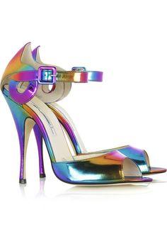 Brian Atwood Margie peep-toe sandals