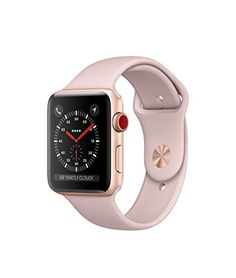 Apple Watch Series 1 Smartwatch Rose Gold Aluminum Case, Pink Sand Sport Band (Newest Model) (Certified Refurbished) Apple Watch 42mm, Apple Watch Series 3, Buy Apple Watch, Rose Gold Apple Watch, Pink Watch, Apple Watch Bands, Price Of Apple Watch, Watch 2, Shopping