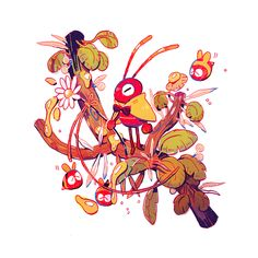 Ant Wizard and Other Friends on Behance