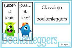 boekenleggers classdojo - juf Inger